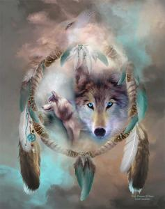 Limited Time Promotion - Wolf Dreams Of Peace