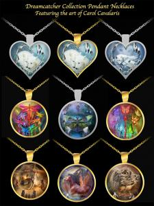 Wearable Art Necklaces