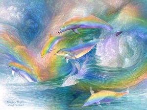 Rainbow Dolphins - A Colorful Tale