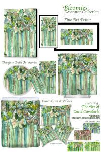 Bloomies Art Now Available on Decorator Collection