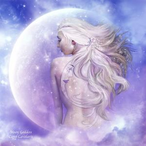Story Art - Moon Goddess