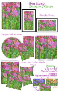 Heart Bloomies Art Now On Decorator Collection
